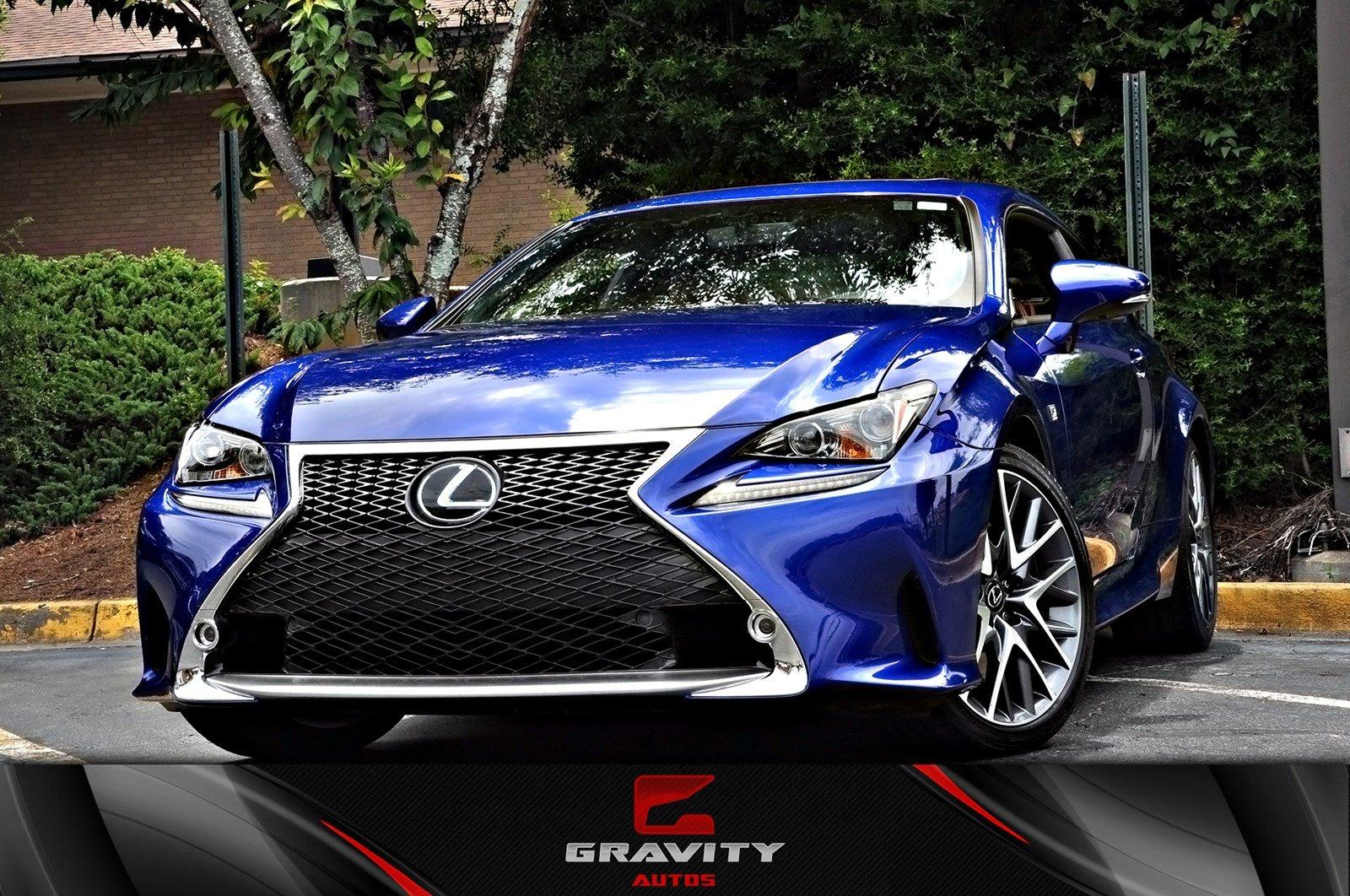 Lexus Rc 350 For Sale >> 2016 Lexus Rc 350 Rc 350 F Sport Stock 012845 For Sale
