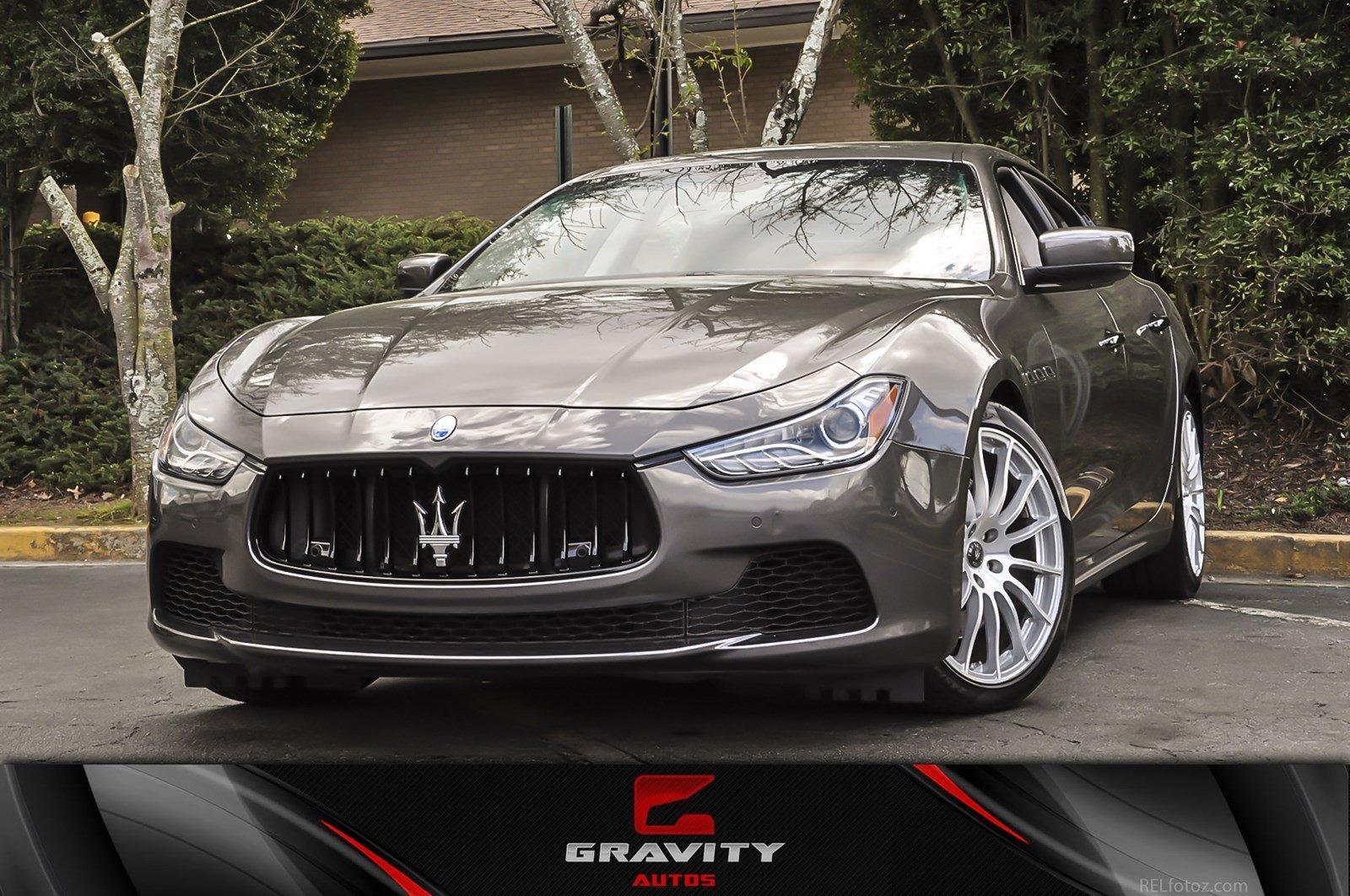 2015 Maserati Ghibli Ghibli S Q4 Stock 131391 For Sale Near