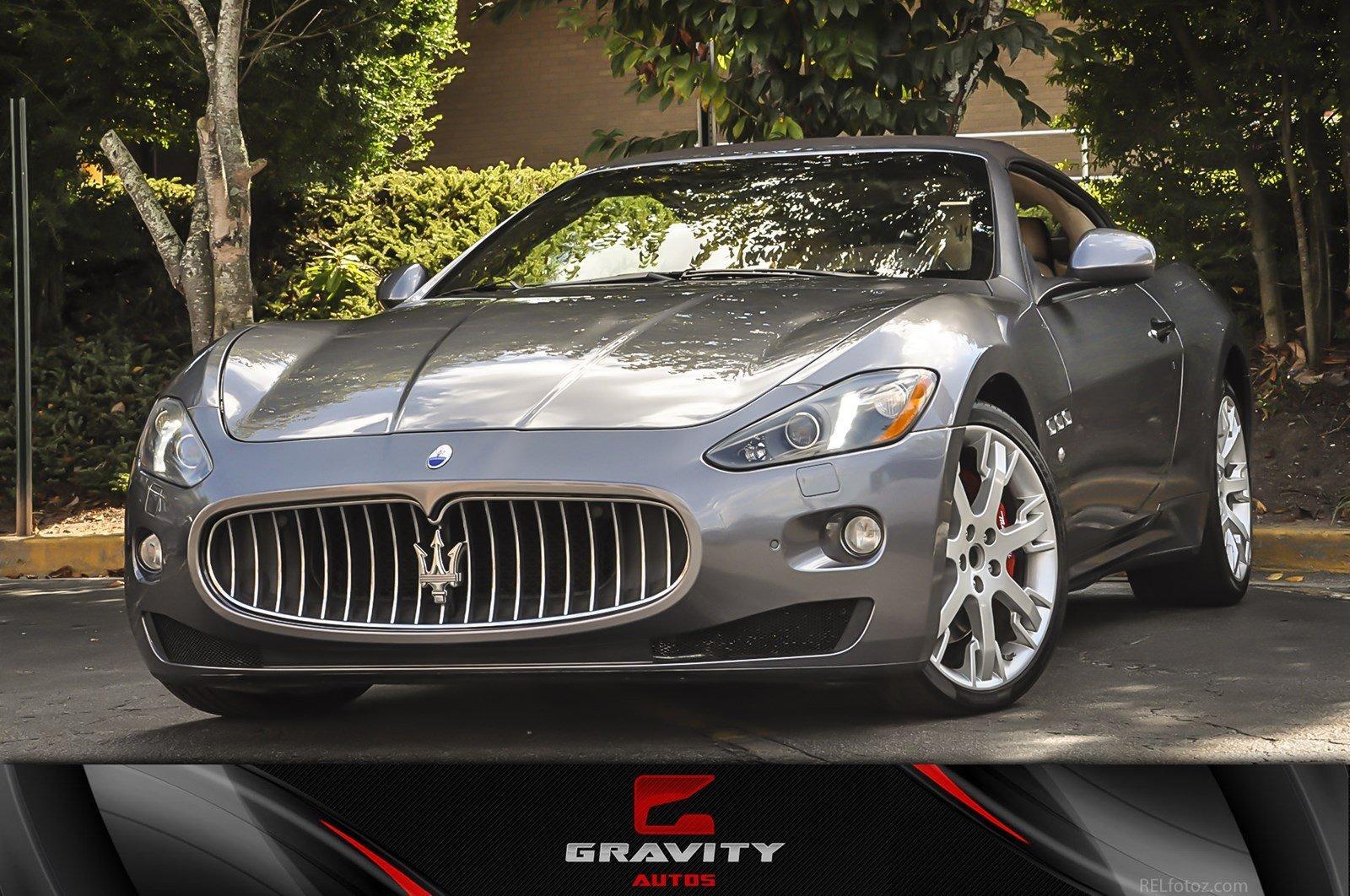2013 Maserati Granturismo Convertible Granturismo Convertible Sport
