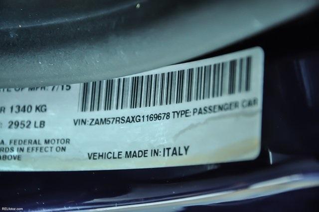 Used 2016 Maserati Ghibli S   Chamblee, GA