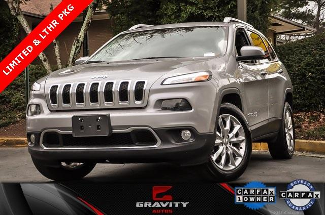 Used 2015 Jeep Cherokee Limited | Chamblee, GA