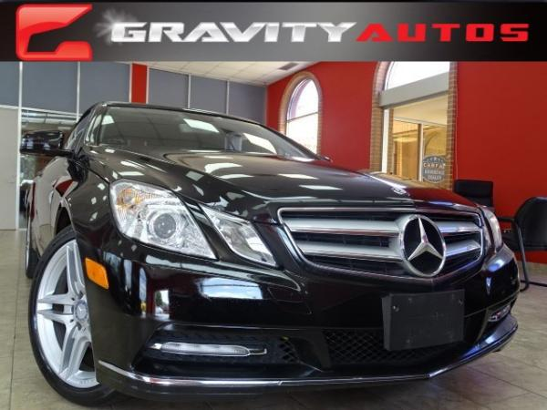 Used 2013 Mercedes Benz E Class Roswell, GA