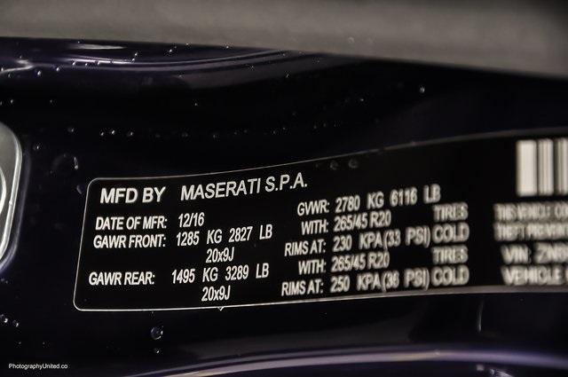 Used 2017 Maserati Levante  | Chamblee, GA