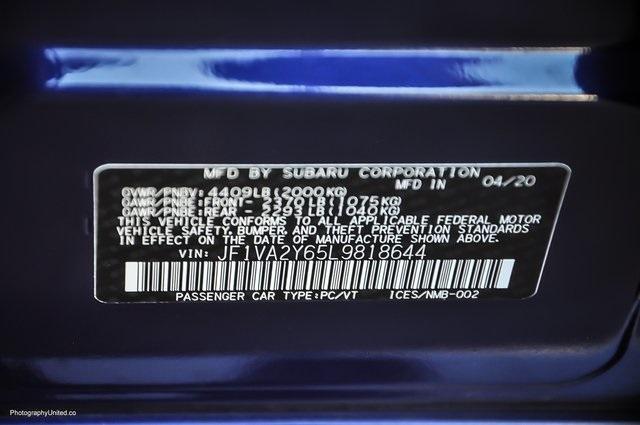 Used 2020 Subaru WRX STi Limited | Chamblee, GA
