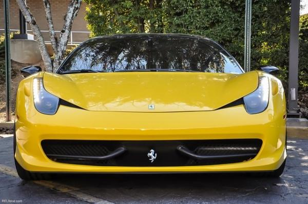 Used 2011 Ferrari 458 Italia for sale Sold at Gravity Autos in Roswell GA 30076 3