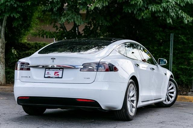Used 2016 Tesla Model S 75D for sale $47,995 at Gravity Autos Atlanta in Chamblee GA 30341 34