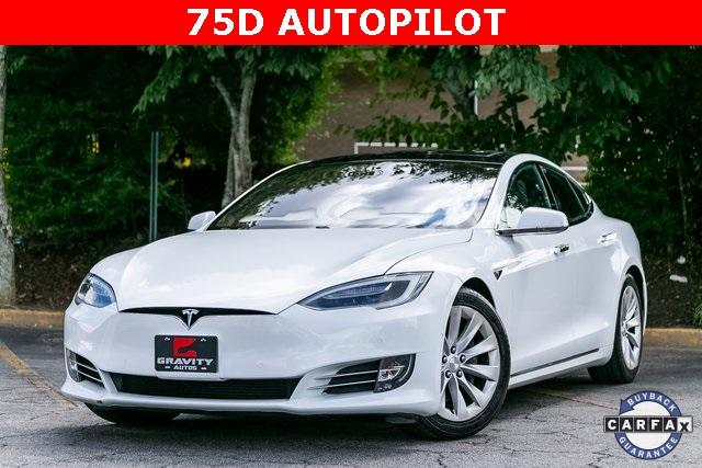 Used 2016 Tesla Model S 75D for sale $47,995 at Gravity Autos Atlanta in Chamblee GA 30341 1