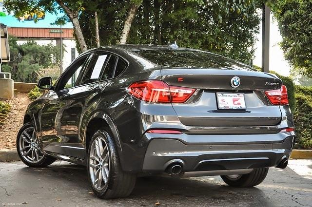 Used 2017 BMW X4 M40i for sale Sold at Gravity Autos Atlanta in Chamblee GA 30341 3