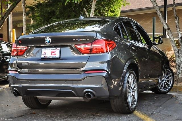 Used 2017 BMW X4 M40i for sale Sold at Gravity Autos Atlanta in Chamblee GA 30341 4