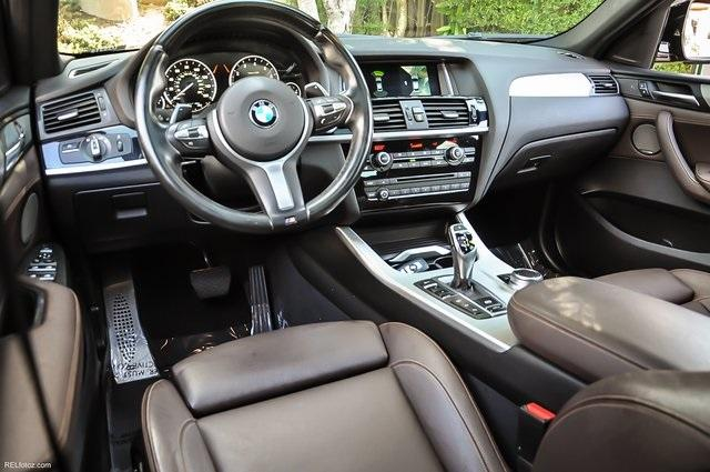 Used 2017 BMW X4 M40i for sale Sold at Gravity Autos Atlanta in Chamblee GA 30341 7