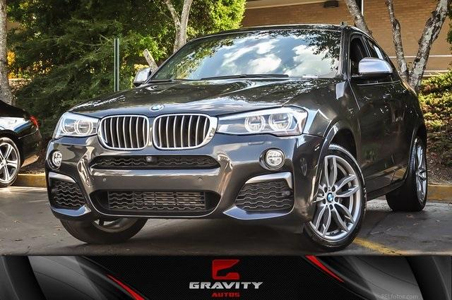 Used 2017 BMW X4 M40i for sale Sold at Gravity Autos Atlanta in Chamblee GA 30341 1