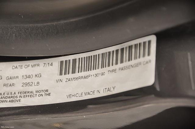 Used 2015 Maserati Quattroporte S Q4 for sale Sold at Gravity Autos Atlanta in Chamblee GA 30341 31