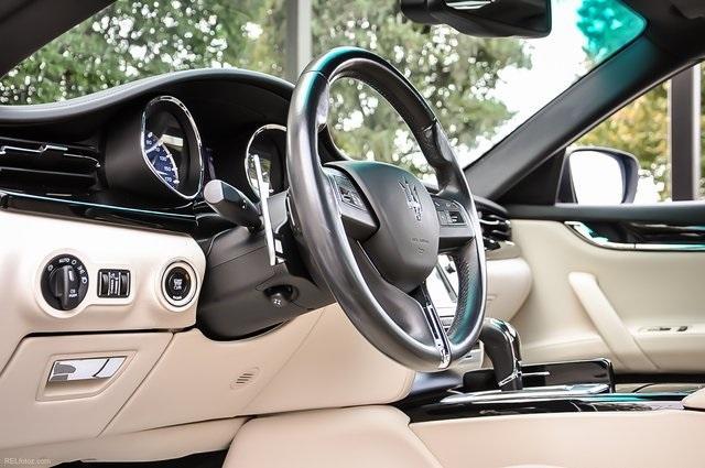 Used 2015 Maserati Quattroporte S Q4 for sale Sold at Gravity Autos Atlanta in Chamblee GA 30341 9