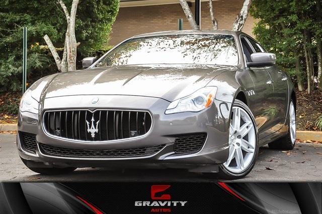 Used 2015 Maserati Quattroporte S Q4 for sale Sold at Gravity Autos Atlanta in Chamblee GA 30341 1
