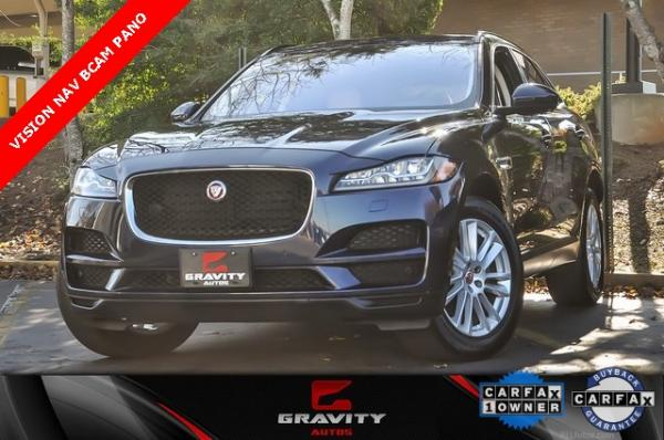 Used 2017 Jaguar F-PACE 35t Prestige for sale Sold at Gravity Autos in Roswell GA 30076 1