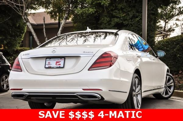 Used 2019 Mercedes-Benz S-Class S 560 for sale Sold at Gravity Autos in Roswell GA 30076 4
