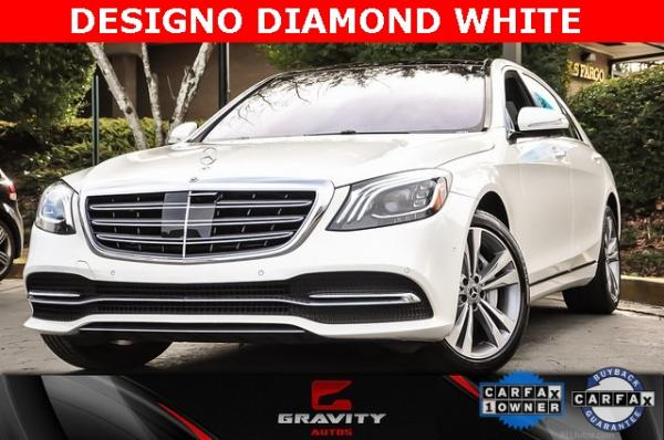 Used 2019 Mercedes-Benz S-Class S 560 for sale $78,900 at Gravity Autos in Roswell GA