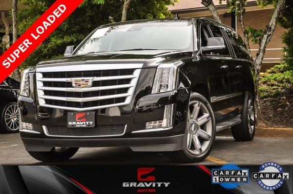Used 2016 Cadillac Escalade ESV Luxury for sale $37,938 at Gravity Autos in Roswell GA
