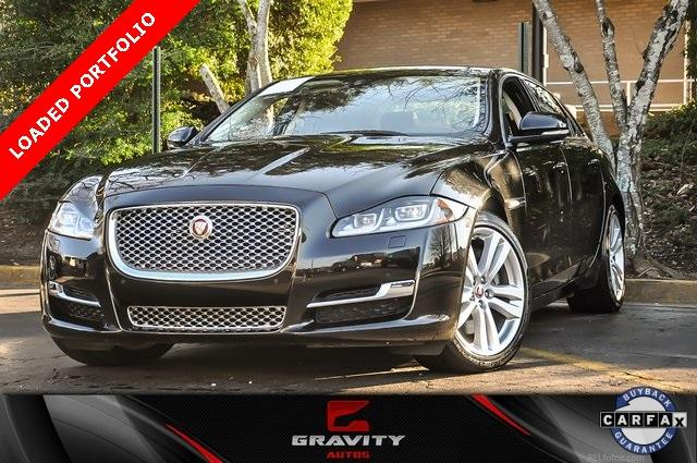 Used 2016 Jaguar XJ XJL Portfolio for sale $34,700 at Gravity Autos in Roswell GA 30076 1