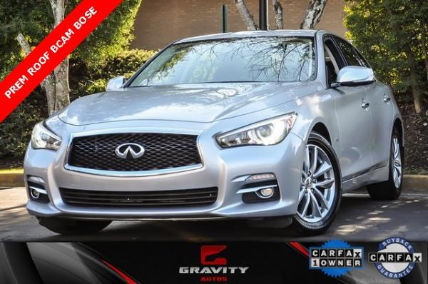 Used 2017 INFINITI Q50 3.0t Premium for sale Sold at Gravity Autos in Roswell GA 30076 1