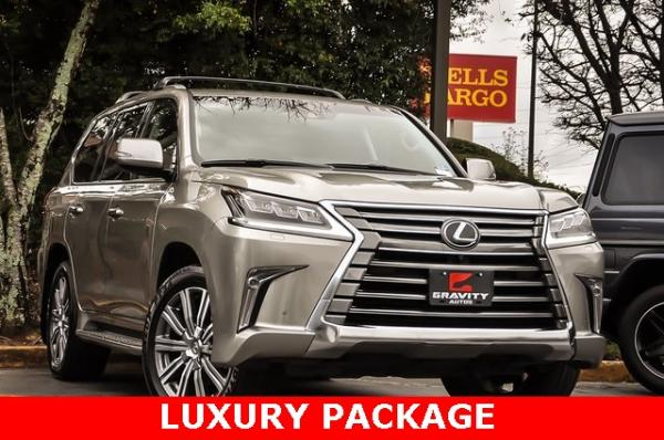 Used 2017 Lexus LX 570 for sale $64,995 at Gravity Autos in Roswell GA 30076 2