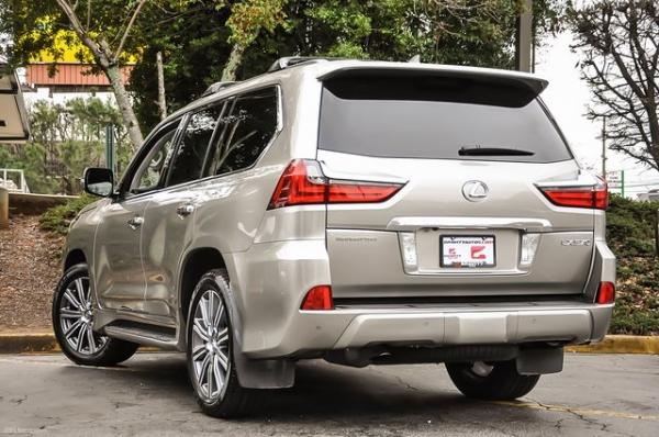 Used 2017 Lexus LX 570 for sale $64,995 at Gravity Autos in Roswell GA 30076 3