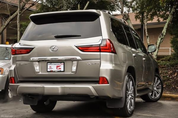 Used 2017 Lexus LX 570 for sale $64,995 at Gravity Autos in Roswell GA 30076 4