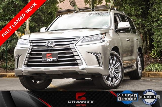 Used 2017 Lexus LX 570 for sale $64,995 at Gravity Autos in Roswell GA 30076 1