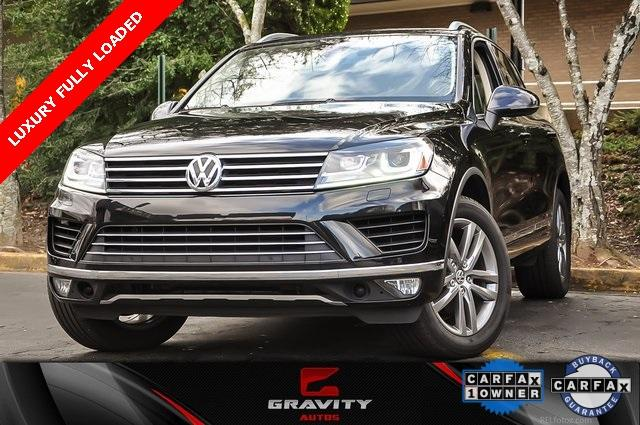 Used 2016 Volkswagen Touareg VR6 FSI for sale $19,500 at Gravity Autos in Roswell GA 30076 1