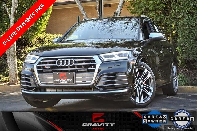 Used 2018 Audi SQ5 3.0T Premium Plus for sale Sold at Gravity Autos in Roswell GA 30076 1