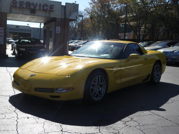 Used 2003 Chevrolet Corvette Z06 for sale Sold at Gravity Autos in Roswell GA 30076 3