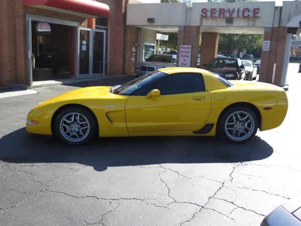 Used 2003 Chevrolet Corvette Z06 for sale Sold at Gravity Autos in Roswell GA 30076 4