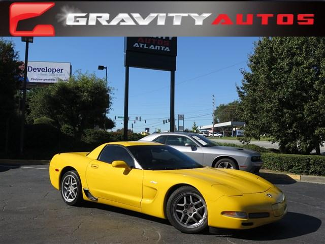 Used 2003 Chevrolet Corvette Z06 for sale Sold at Gravity Autos in Roswell GA 30076 1