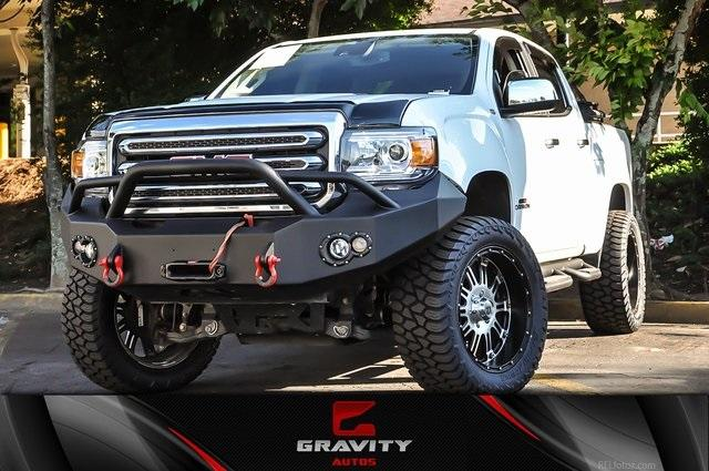 Used 2017 GMC Canyon SLT for sale $27,995 at Gravity Autos in Roswell GA 30076 1