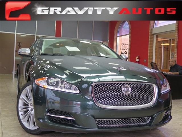 Used 2012 Jaguar XJ Supercharged for sale Sold at Gravity Autos in Roswell GA 30076 1