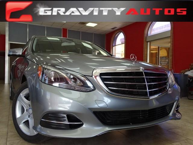 Used 2014 Mercedes-Benz E-Class E350 Luxury for sale Sold at Gravity Autos in Roswell GA 30076 1