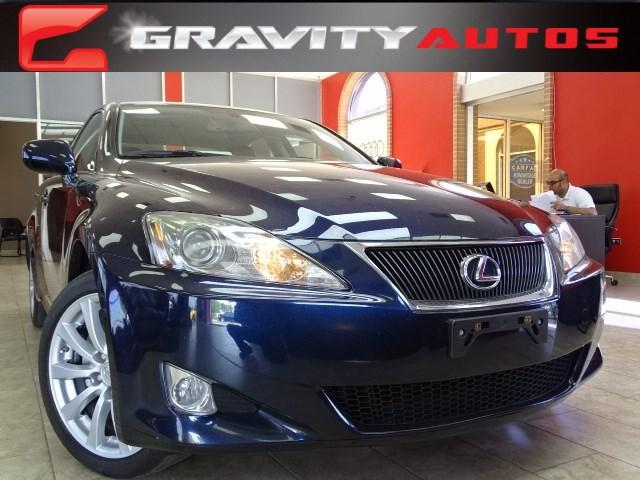 Used 2006 Lexus IS 250 Auto for sale Sold at Gravity Autos in Roswell GA 30076 1