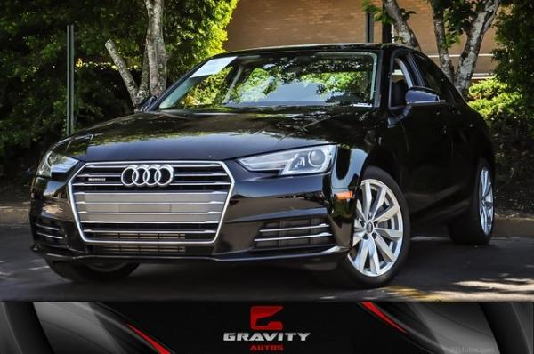 Used 2017 Audi A4 2.0T Premium for sale Sold at Gravity Autos in Roswell GA 30076 1