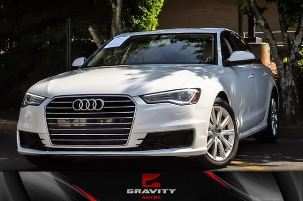 Used 2016 Audi A6 2.0T Premium Plus for sale $20,499 at Gravity Autos in Roswell GA 30076 1