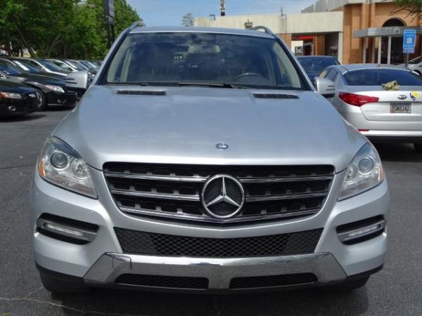 Used 2012 Mercedes-Benz M-Class ML350 for sale Sold at Gravity Autos in Roswell GA 30076 2