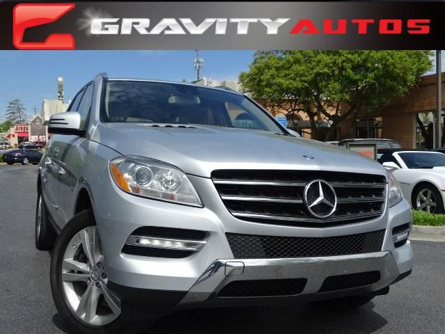 Used 2012 Mercedes-Benz M-Class ML350 for sale Sold at Gravity Autos in Roswell GA 30076 1