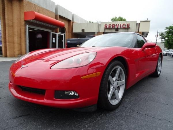Used 2007 Chevrolet Corvette for sale Sold at Gravity Autos in Roswell GA 30076 3