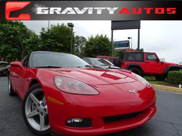 Used 2007 Chevrolet Corvette for sale Sold at Gravity Autos in Roswell GA 30076 1