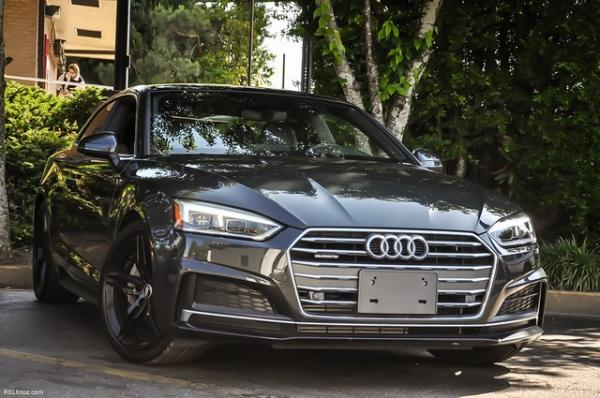 Used 2018 Audi A5 2.0T Premium Plus for sale Sold at Gravity Autos in Roswell GA 30076 2