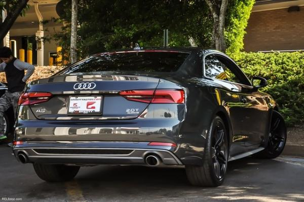 Used 2018 Audi A5 2.0T Premium Plus for sale Sold at Gravity Autos in Roswell GA 30076 4