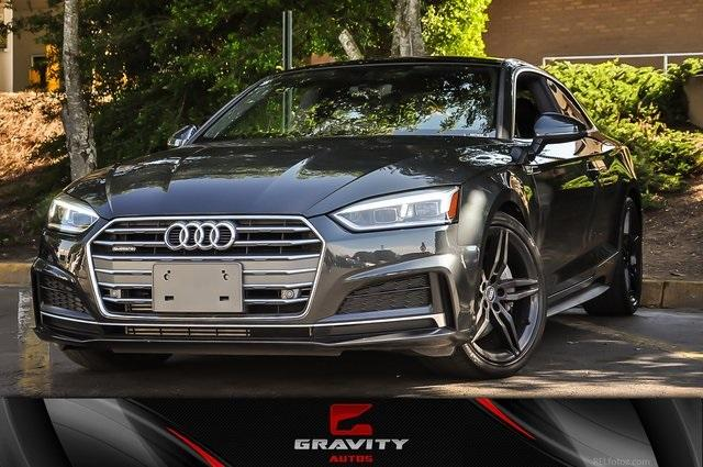 Used 2018 Audi A5 2.0T Premium Plus for sale Sold at Gravity Autos in Roswell GA 30076 1