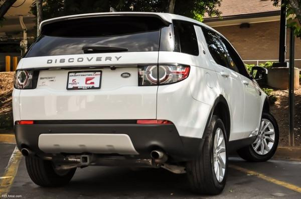 Used 2017 Land Rover Discovery Sport HSE for sale Sold at Gravity Autos in Roswell GA 30076 4