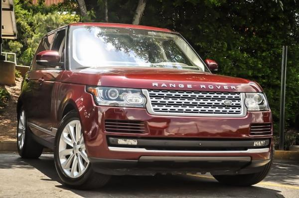 Used 2016 Land Rover Range Rover HSE for sale $38,500 at Gravity Autos in Roswell GA 30076 2