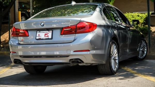 Used 2018 BMW 5 Series 540i for sale $35,900 at Gravity Autos in Roswell GA 30076 4