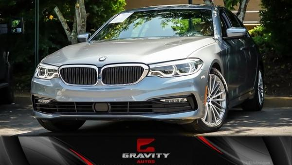 Used 2018 BMW 5 Series 540i for sale $35,900 at Gravity Autos in Roswell GA 30076 1